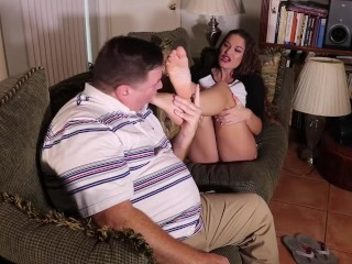 Feet the Needy Foot Worship with Kendra Heart and Archer Legend at Foot Patrol Studio