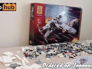 Building a hot ass Lego Star Wars XXX-Wing to creampie the galaxy like your stepsister's stepcousin