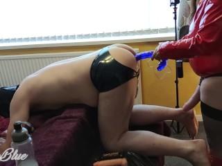 Let him cum devil mistress with hands tied...