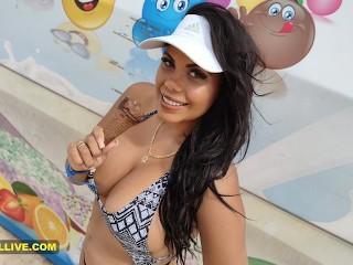 Stepfather up curvy latina ass huge boobs at...