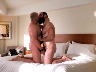 Getting fucked deep by a friend!
