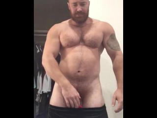 Sexy hung cocky musclebear alpha onlyfansbeefbeast big bear...