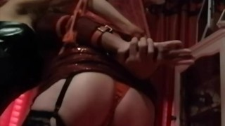 FetishTransexual invited friends for a good afternoon BONDAGE time