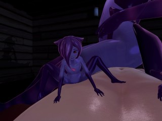 Halloween night with Slime-Girl – Eris (3D Hentai, 4K, 60FPS, Uncensored)