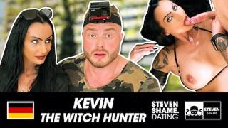 Hot Goth MILF Sidney Dark gets dick hard and cum-glazed by muscular Berlin guy! stevenshame.dating