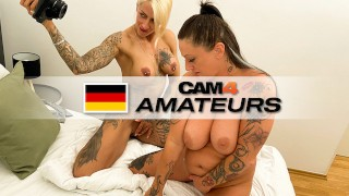 Filthy pussy spoiling fun with Harleen van Hynten & Adrienne Kiss! CAM4