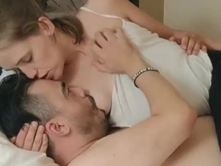 Milk white sweet part 1 sensual kissing loving...