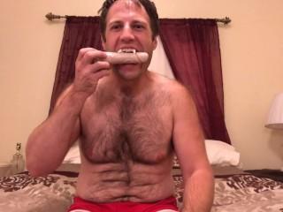 Sexy homo vampire cbt dildo instruction...
