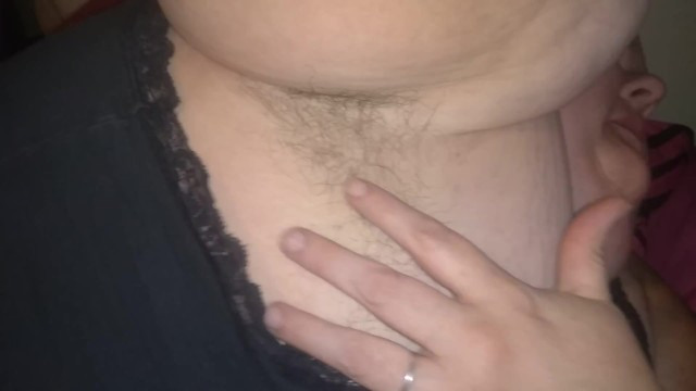 Ssbbw playing with my hairy arm pits 20