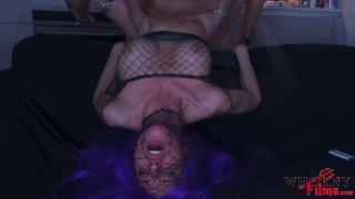 WHORNY FILMS- 4K HD Cosplay Hardcore Fucking Submissive Big Tits Slut with Fishnet Fetish
