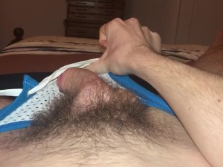 19 dick and fucks a toy...