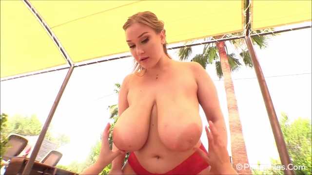 Super busty Cheryl Blossom gets her boobs massaged while she gives a lapdance 6
