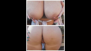 Mature lady huge boobs and big fat Ass wants to know which 1 would u fuck?