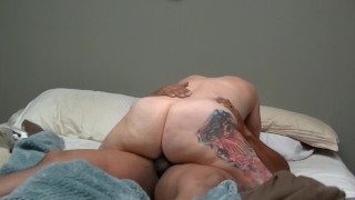 Sexy PAWG Sasha loves clappin that juicy ass on Bears BBC