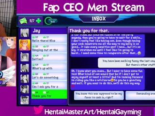 After party favors! Fap CEO Men stream #27 W/HentaiGayming