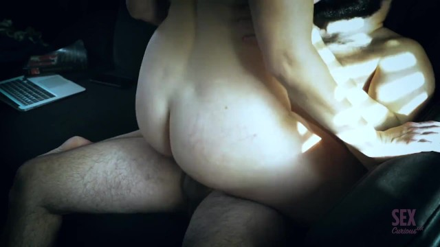 impatient wife starts masturbating before husband comes home to fuck her - SexCuriousXXX 20