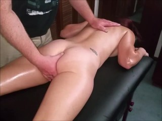 Girlfriend get massage with happy endings...