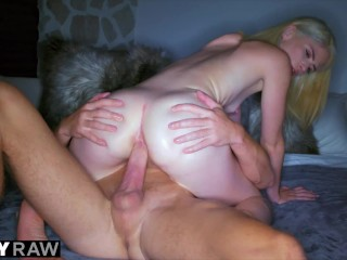 TUSHYRAW Blonde MILF craves anal all day and night