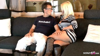 German Mature Privat Sex Date with Pornstar Conny Dachs