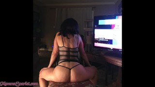Election Night is pick up MILF Granny in her chair night - fucking deep n hard