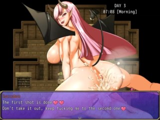 Ruleof Succubus [RPG Hentai game] Ep.2 massive cumshot in demongirl ass and pussy