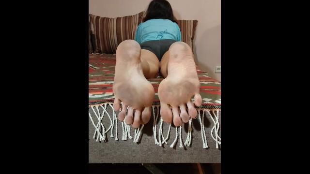 MILF;Feet;Exclusive;Verified Amateurs;Solo Female;Vertical Video foot-fetish, soles, big-soles, dirty-feet, dirty-soles, big-feet, perfect-soles, dry-dirty-soles, dry-soles, long-toes