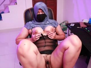Hijabgirl indonesia masturbation...
