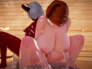 Sexus Resort – (PT 02) – Threesome in the Spa Room