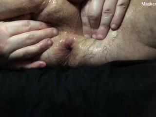 Up close big bear play...