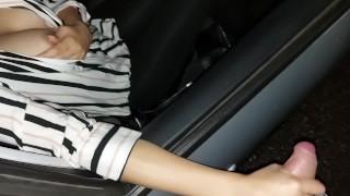 Screen Capture of Video Titled: Moglie italiana lasciata in macchina per essere prestata ad un amico e farle bere la sua sborra