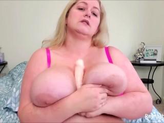 Mouth 2 boobs pov dildo joi...