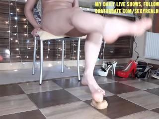 Mistress squirt your dildo spanking amateur...