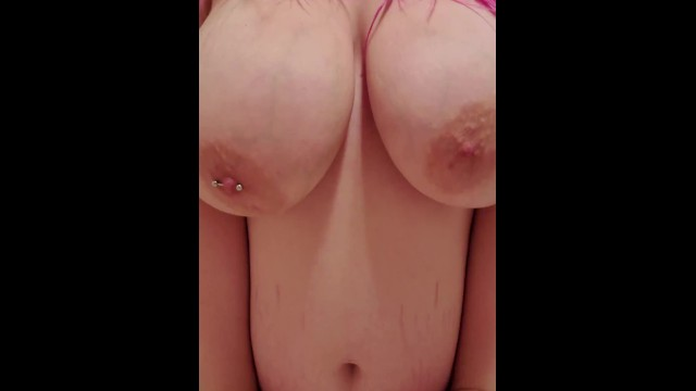 Playing with & Sucking on my Huge Tits 25