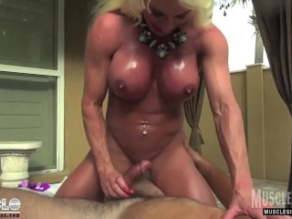 Muscle domination fuck...