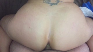 Hard Anal Pounding Big Booty Pawg With Anal Creampie