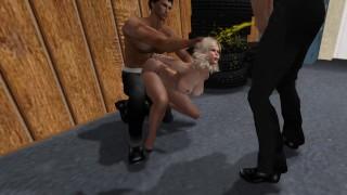 Pantyhose Bondage and Golden Shower