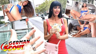 german scout – fit massive tits spanish latina milf sofia i rough fuck at pickup casting – teen porn