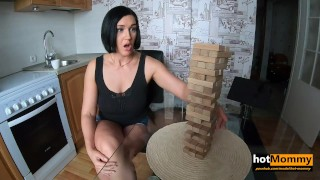 Screen Capture of Video Titled: Foxy step Mom made me play truth or dare