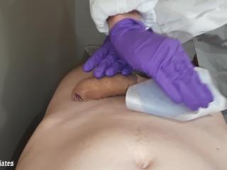 Cock waxing
