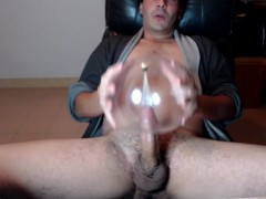 Hot Guy Moaning Cum n Humping Balloon with Intense Orgasm!!!