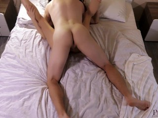Please Cum inside Me and Fill my Pussy Creampie