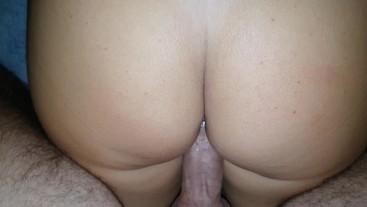 60 FPS intense female orgasm plus back shots POV (Sound ON!)