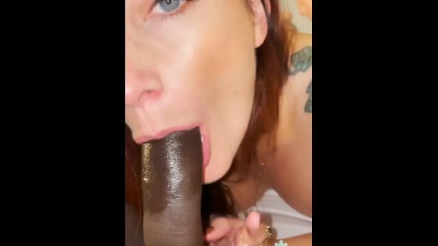 throating his big dick - Adreena Winters 24