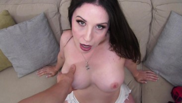 Seduced and sucked off by my hot sister in law with big tits - Amiee Cambridge