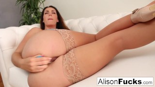 Stacked-beauty-Alison-Tyler-pounds-her-pussy-to-a-wet-completion