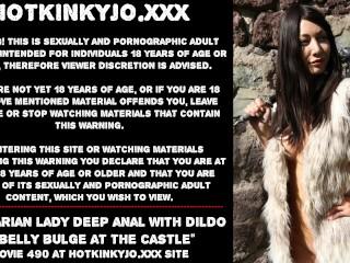 Barbarian lady bulge castle...