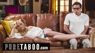 PURE TABOO Kenna James Pity Fucks Her Nerdy New Step-Brother
