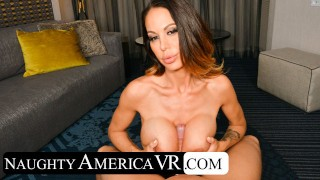 Naughty America - McKenzie Lee will smother you with her big jugs in VR