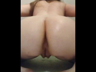 Big oiled spread perfect pussy...