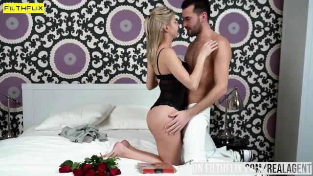 Horny Slut Olivia Sin Rides Her Man 13